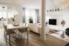 Exklusives Penthouse mit Dachterrasse! - Wohn-Essbereich