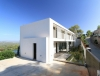 Moderne Neubau-Villa mit Blick über Roca Llisa! - Frontansicht