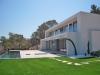 Moderne Neubau-Villa mit Blick über Roca Llisa! - Rückansicht