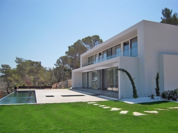 Moderne Neubau-Villa mit Blick über Roca Llisa!,  Ibiza, Villa