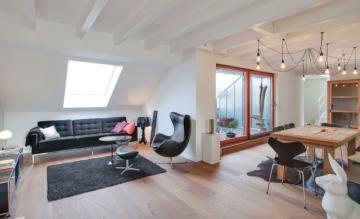 Neubau-Maisonette-Traum mit Dachterrasse!, 40479 Düsseldorf, Maisonettewohnung