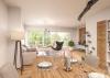 Erstbezug! Exklusive 3-Zimmer-Wohnung mit Sonnen-Loggia! - Wohnen