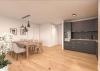 Erstbezug! Exklusive 3-Zimmer-Wohnung mit Sonnen-Loggia! - Offene Küche