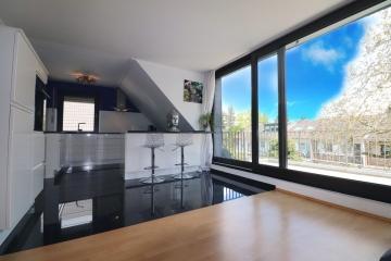 Beeindruckende Maisonette mit Dachterrasse, 40468 Düsseldorf, Maisonettewohnung